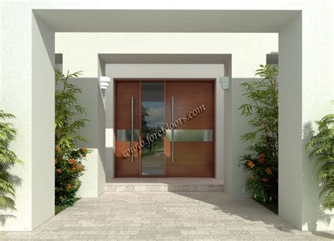 contemporary double front door gallery of contemporary modern wood front entry doors by
