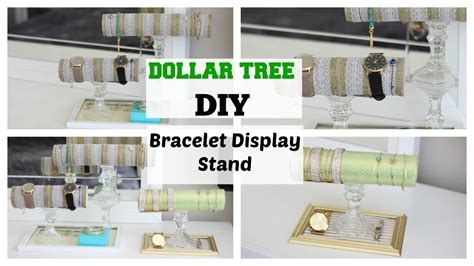 DOLLAR TREE DIY: Bracelet.Jewelry Display Stand (EASY), My Crafts and DIY Projects
