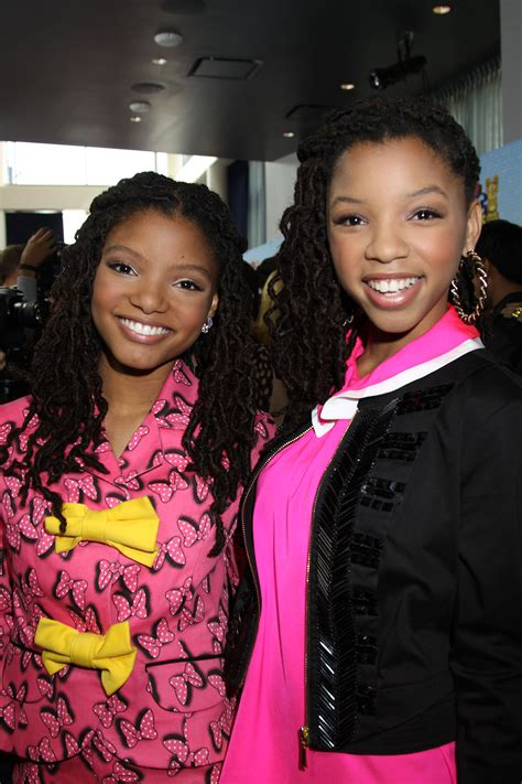chloe and halle bailey acting bailey chloe ii biography