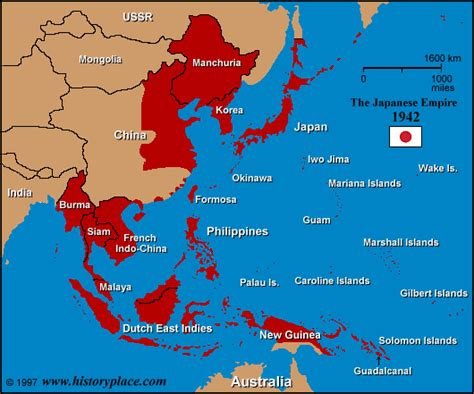 map of the united states and japan the history place u s troops in action