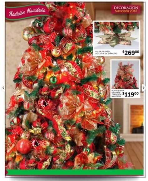 decoracion arboles de navidad 2013 cat 225 logo adornos navide 241 os soriana noviembre y diciembre