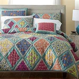 Patchwork Quilt Bedding Sets Dada Bedding Collection Reversible Real Patchwork Cotton Forest Glade Floral Quilt
