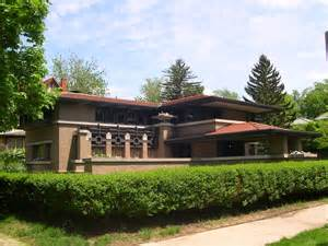 Frank Lloyd Wright Prairie Style House Plans Architecture Traditional Classic Home Design Of Frank
