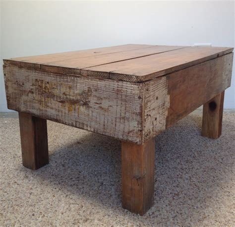 Refurbished Coffee Table Items Similar To Refurbished White Vintage Crate Coffee Table On Etsy