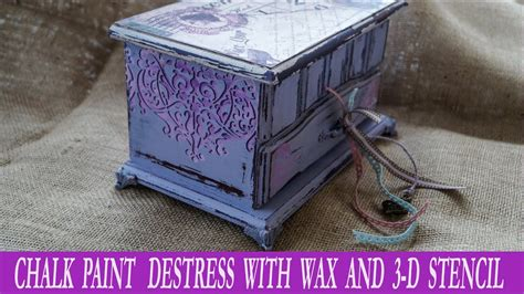 diy chalk paint debi decoupage tutorial with chalk paint and destress with wax