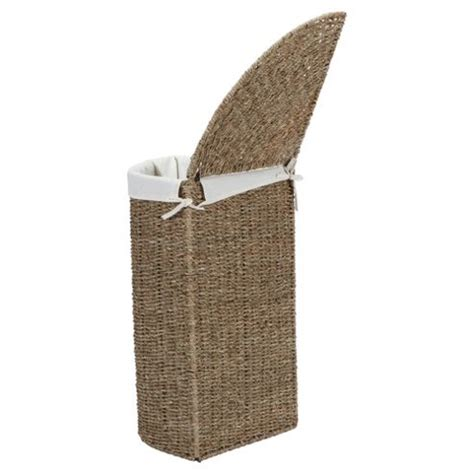 Buy Tesco Seagrass Corner Laundry Basket From Our Laundry Seagrass Laundry