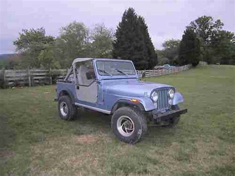 Used Jeeps For Sale In Alabama Sell Used 1984 Jeep Cj7 Base Sport Utility 2 Door 4 2l In