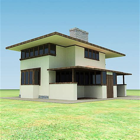 small house model 3d model small town house 29 95 buy download