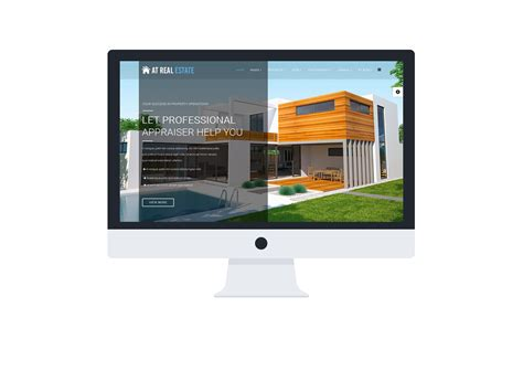 joomla templates free real estate images