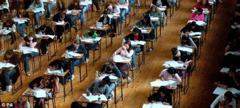 in taking your place at the table sit from gcse pupils take same seven times a year as schools