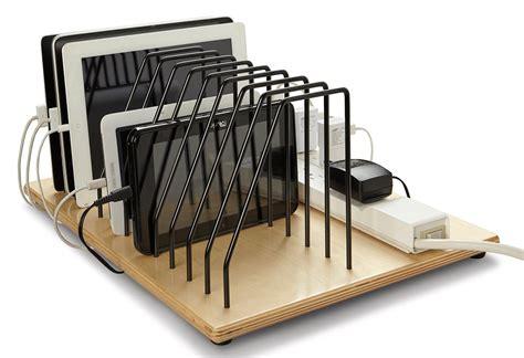 tablet charging station desktop tablet charging station adjustable pocket dividers