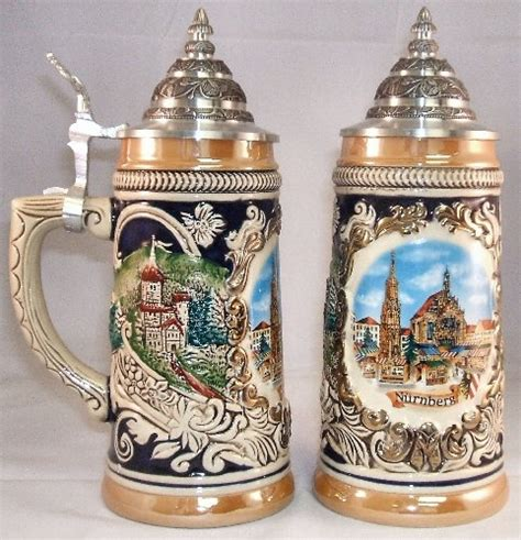 steins artificial trees nuernberg market german stein 5l authentic steins from germany