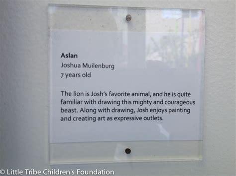 painting description tribe childrens foundation josh 3 image druma co