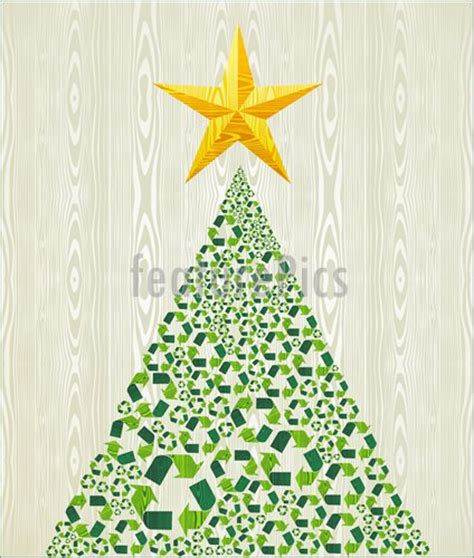 christmas recycle pine tree stock illustration i3455004 at