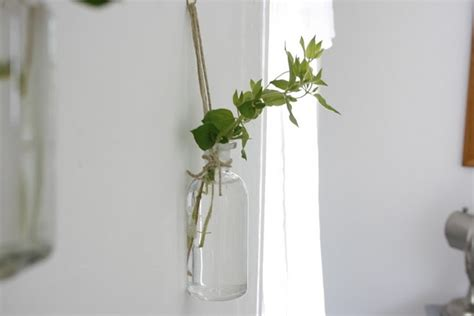 Hanging Wall Vases by Diy Hanging Vases Wall Vases Going Home To Roost