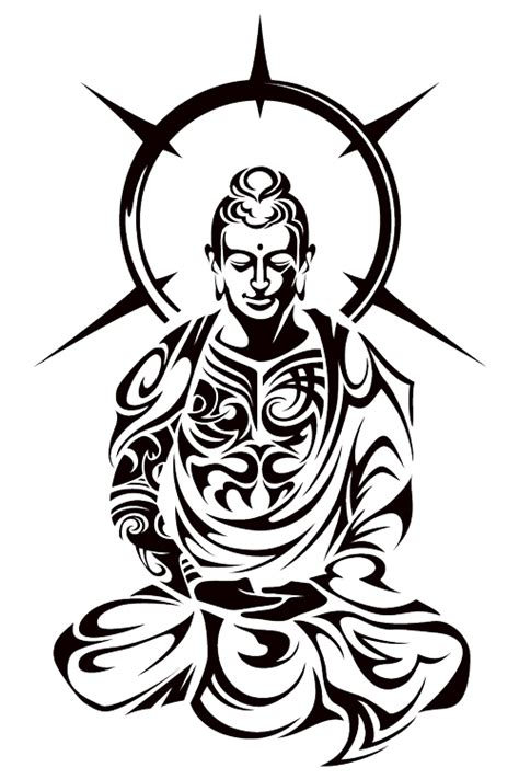 buddha tribal tattoo designs buddha tribal by takihisa deviantart on deviantart