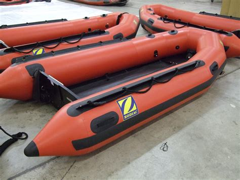 emergency inflatable boat zodiac milpro erb inflatable boats emergency response
