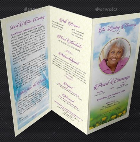 funeral program template free doc 500494 funeral program template funeral programs
