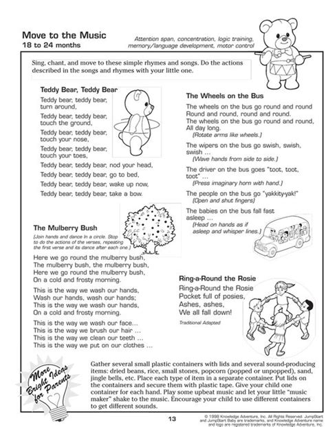 printable music games for kindergarten move to the music fun free toddler activities great