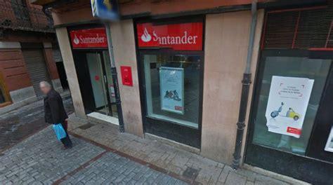 donde hay un banco santander atraco en un banco del barrio h 250 medo un desprop 243 sito de
