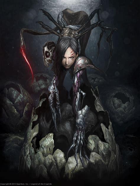 Iron Horsemen The Iron Chronicles artist bae chang sung aka dalia title black widow 2