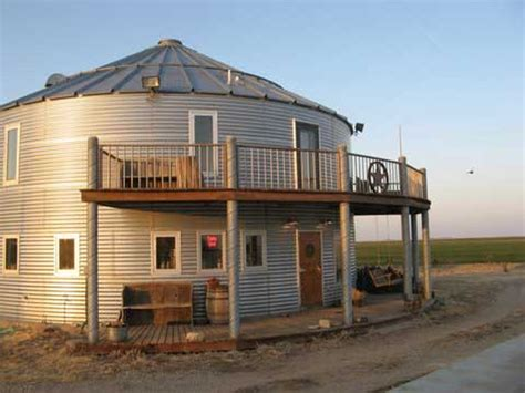 inspiration grain bin houses at earth news