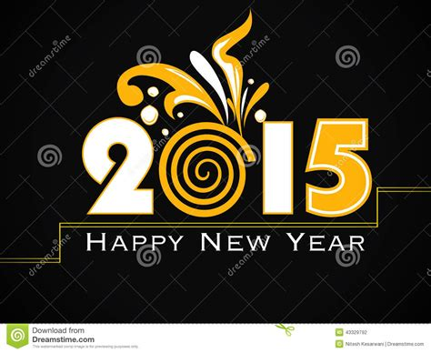 modern new year vector modern 2015 new year background stock vector