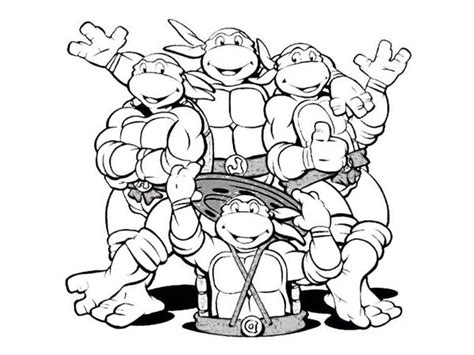 ninja turtle mask coloring coloring pages