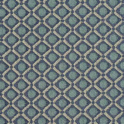 light blue upholstery fabric dark blue and light blue geometric square damask