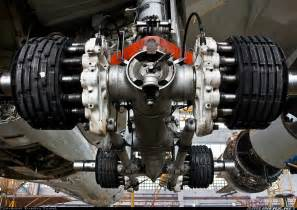 Aircraft Carbon Brake System Landing Gear Trucks Of The Airbus A350 Aviation