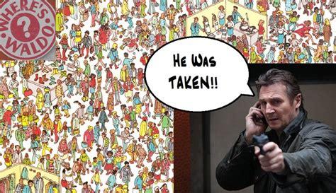 Waldo Meme - liam neeson meme wheres waldo things that make me laugh