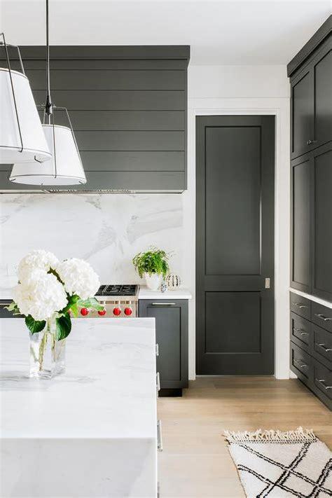 shiplap kitchen hood black shiplap door design ideas