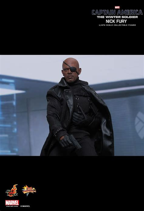 Toys Nick Fury The Winter Soldier Misb toys mms315 captain america the winter soldier nick fury