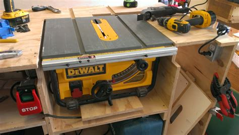 table saw leveling table level for dw745 router forums