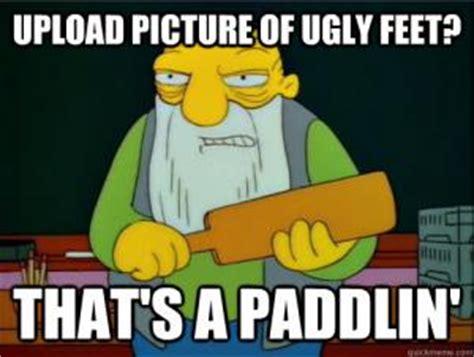 Ugly Feet Meme - funniest jokes ever for kids kappit