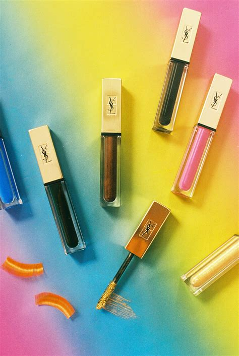 best ysl mascara ysl s new vinyl couture colored mascaras are a must
