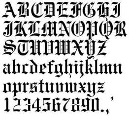 gothic tattoo buchstaben zahlen gothic tattoo letters