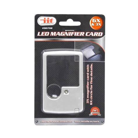 wholesale led magnifier card glw