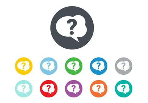pattern of asking questions free question mark icon vector download free vector art