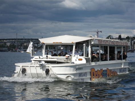 boat tours of seattle seattle duck tour the other duck tour boat nick
