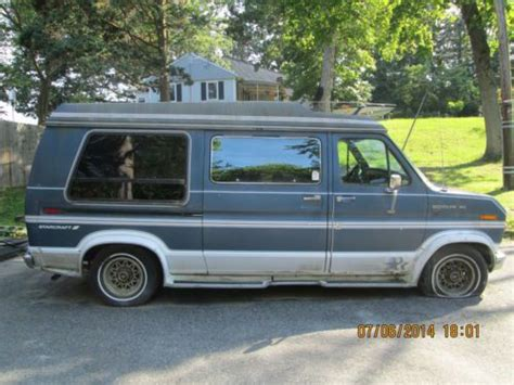 how to fix cars 1988 ford e series interior lighting find used 1988 ford e 150 starcraft conversion van with braun handicap lift no reserve in