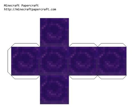 Minecraft Papercraft All Blocks - soul sand 42 minecraft papercraft blocks decornorth