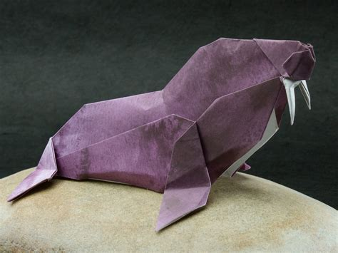 Walrus Origami - origami walrus wallpaper high definition high quality