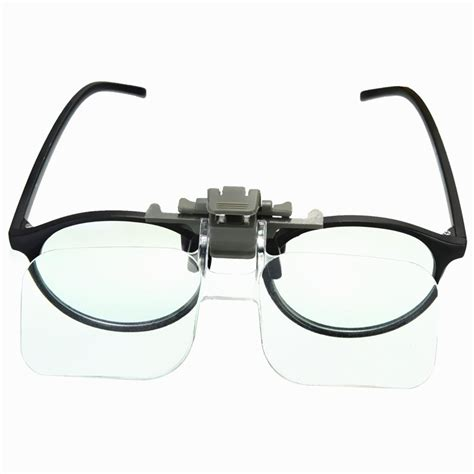 hd lens precise clip on clear folding magnifying glasses