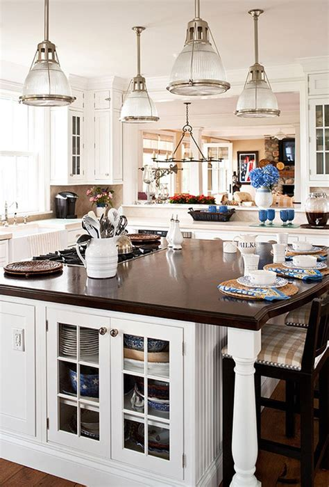 Traditional Kitchen Island Lighting 35 Beautiful Kitchen Island Lighting Ideas Homeluf