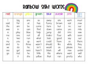 Other Words For Red by 100 Sight Words First Grade Scalien