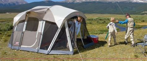 coleman weathermaster 6 person screened tent