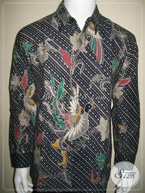 Hem Batik Katun Terbaru Burung Hitam Kemeja Jumbo Big B60717007 kemeja batik liris warna hitam ornamen burung lp1018bt l toko batik 2018