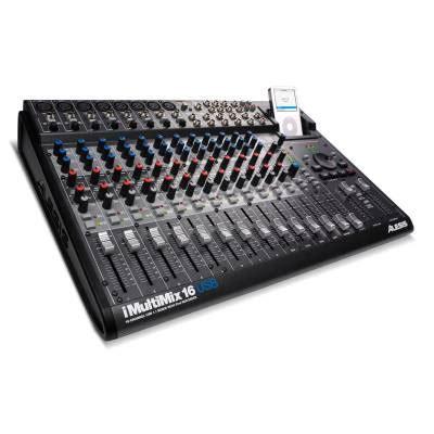 Mixer Audio Alesis alesis imultimix 16 usb 16 channel usb mixer