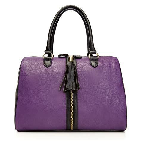 Steve Madden Handbags by Steve Madden Handbag Bclare Satchel In Purple Lyst